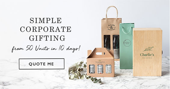 Simple Corporate Gifting from 50 units in 10 days