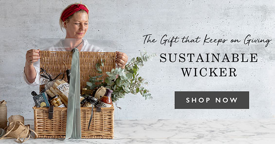 The gift that keeps on giving. Sustainable Wicker