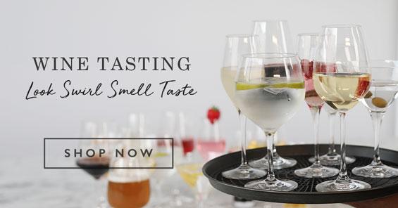 Wine Tasting - Look, Swirl, Smell, Taste
