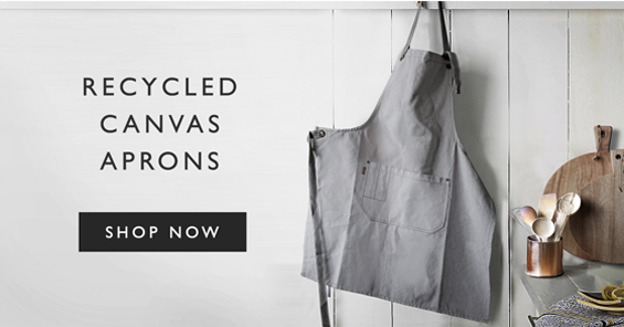 Recycled Canvas Aprons