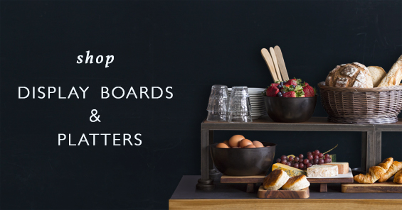 Shop Display Boards & Platters
