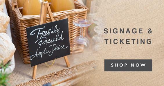 Signage & Ticketing