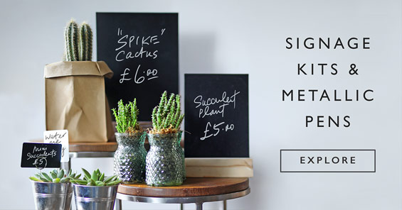 Signage Kits & Metallic Pens