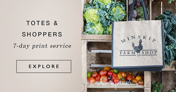 Branded Totes & Shoppers