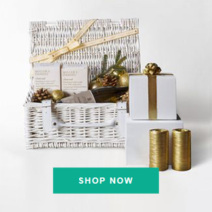 wicker christmas gifts