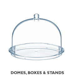 DOMES, BOXES & STANDS
