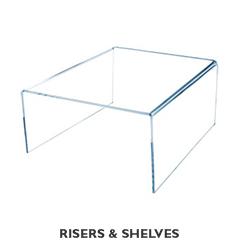 RISERS & SHELVES