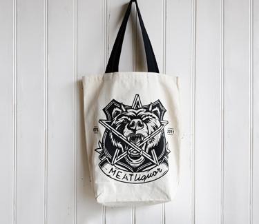 meat liquor tote bag
