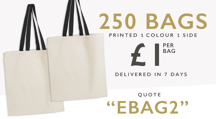 the uk superfast overprinted bag service