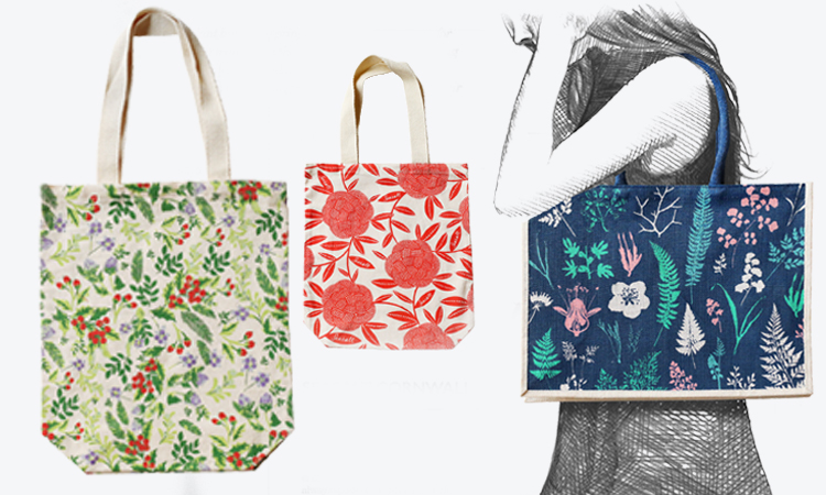 Totally bespoke tote bags for Spring