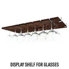 Display Shelf For Glasses