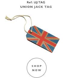 Union Jack Gift Tag