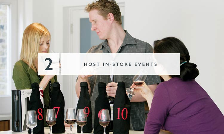 2 - Host In-store events