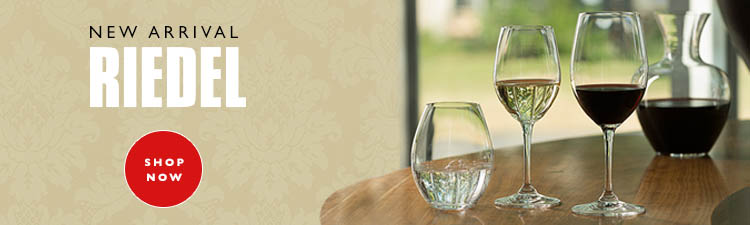 New collection of Riedel glassware available now
