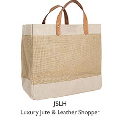 LUXURY JUTE SHOPPER