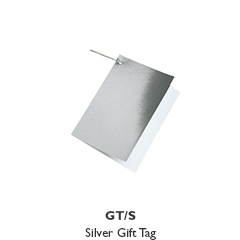 Gift Tag - Silver