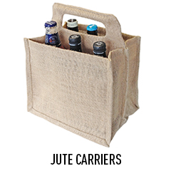 6 BEER JUTE CARRIER
