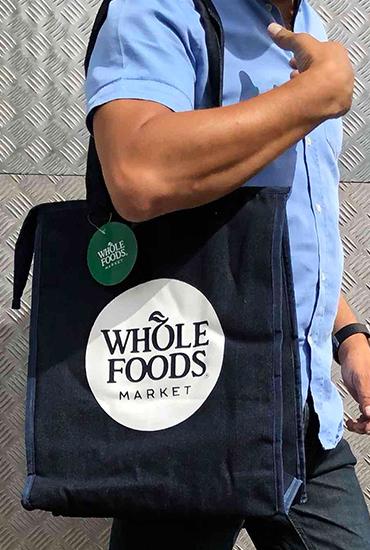Wholefoods Denim Bag