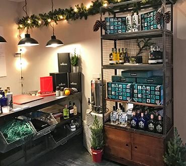 Pop up + branding - Gin Foundry