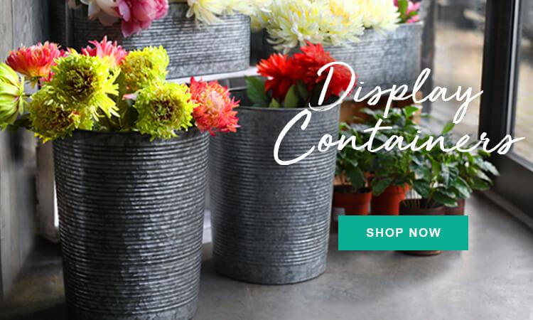 seasonal display containers