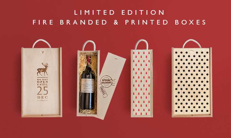 Limited Edition Fire Branded Boxes | Shop Now