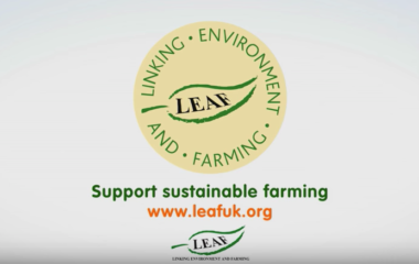 Sustainable farming - The LEAF Marque