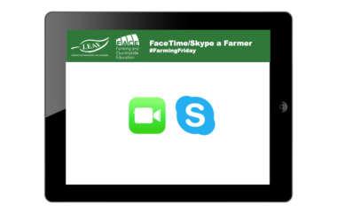 FaceTime/Skype a Farmer - #FarmingFriday