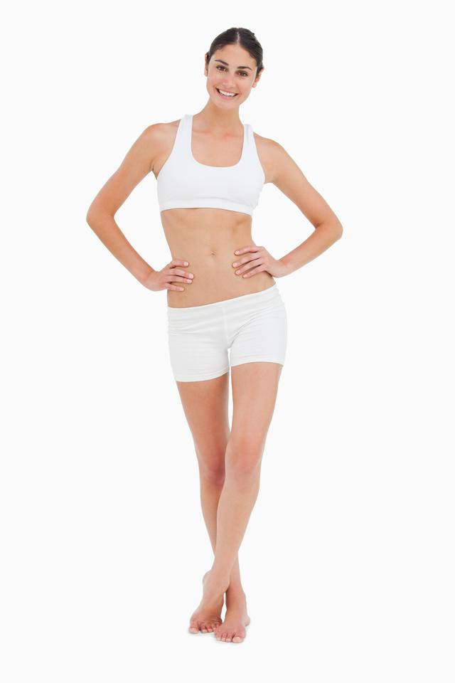 """Slim woman"" stock image"