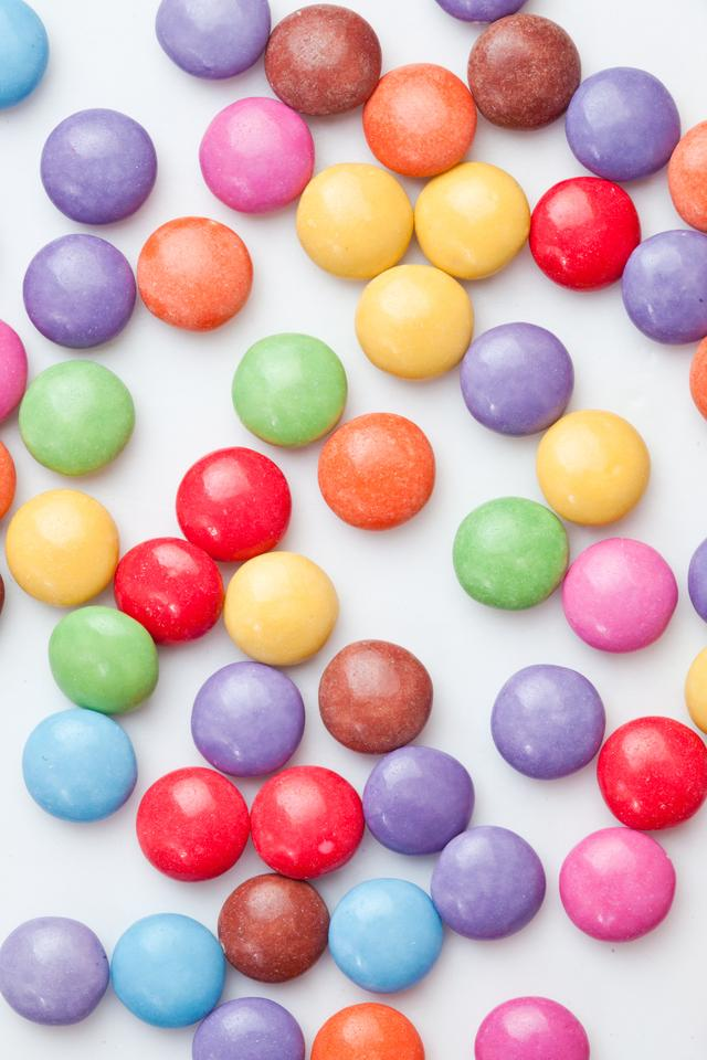 """""""Chocolate candies multi coloured"""" stock image"""