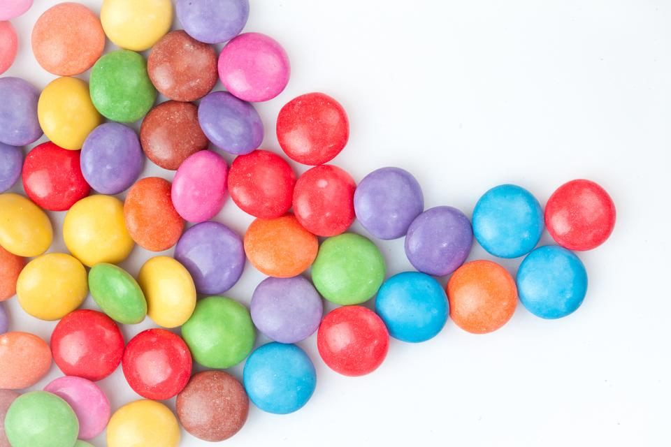 """""""Multicolored candies"""" stock image"""