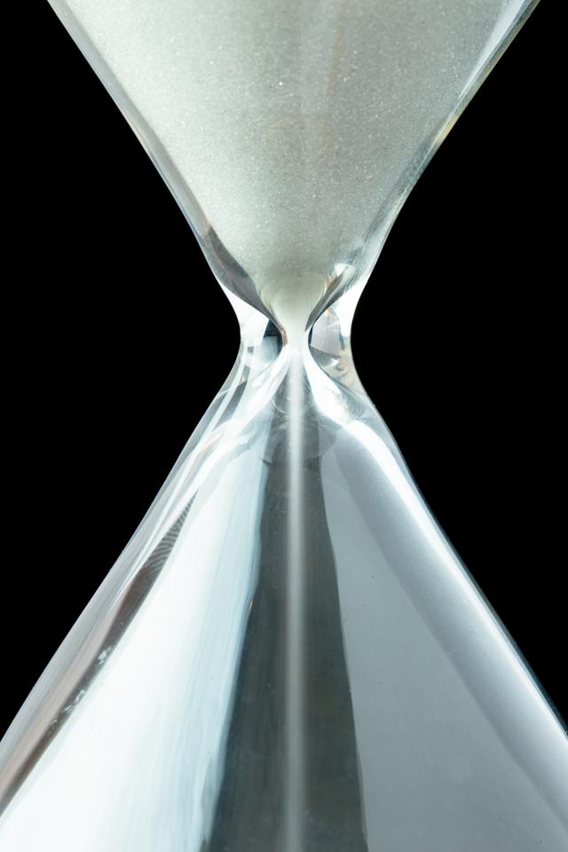 """Close up of a hourglass"" stock image"