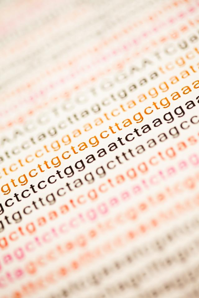 """List of dna analysis"" stock image"