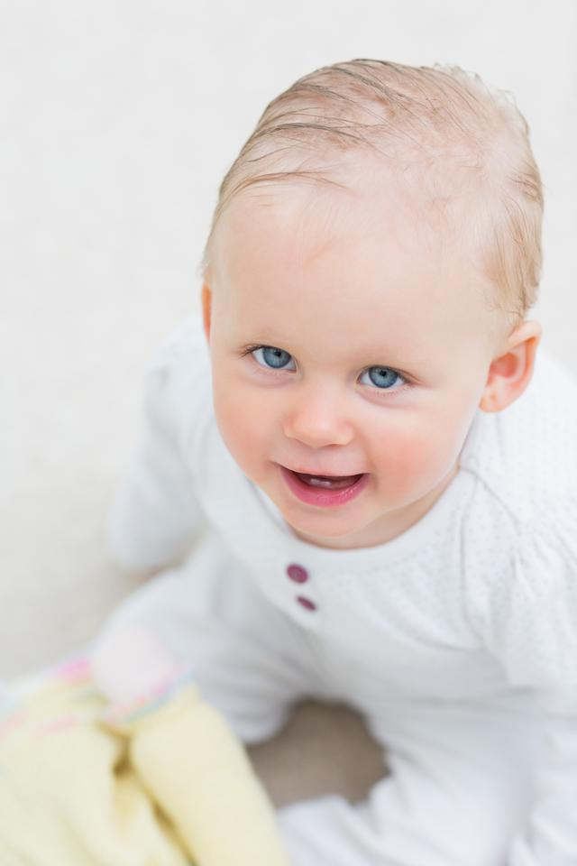 """""""High view of a baby"""" stock image"""