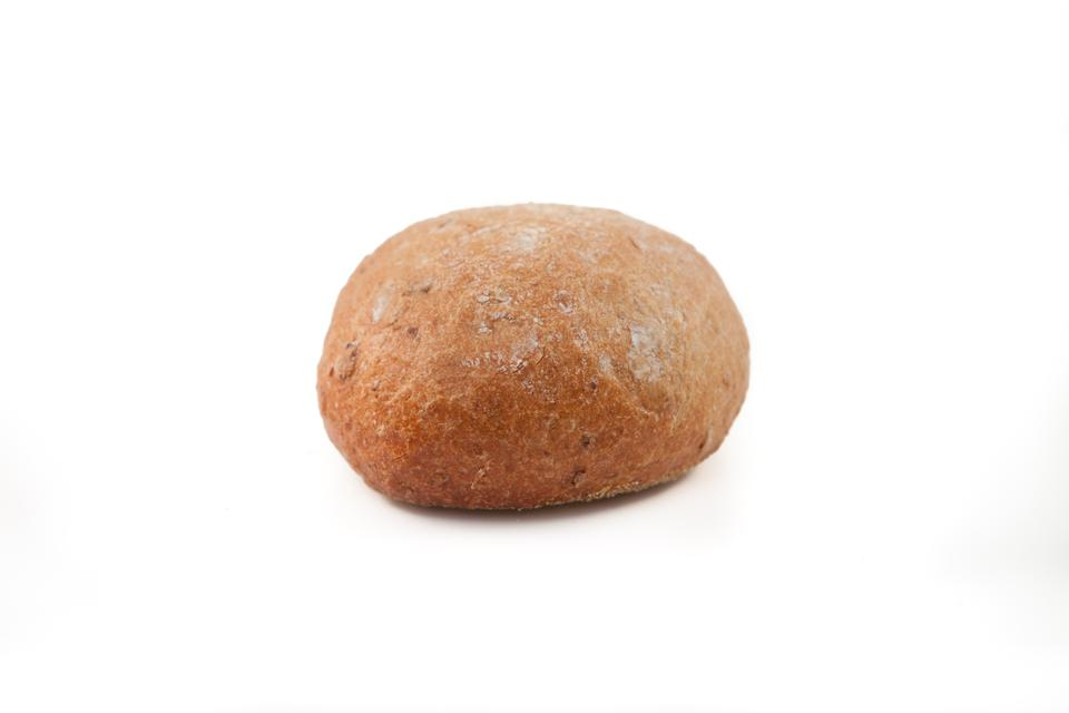 """Wholemeal bun"" stock image"