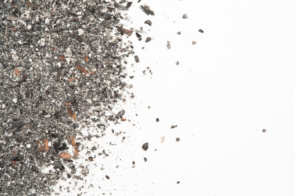 """""""Close up of ash with copy space"""" stock image"""