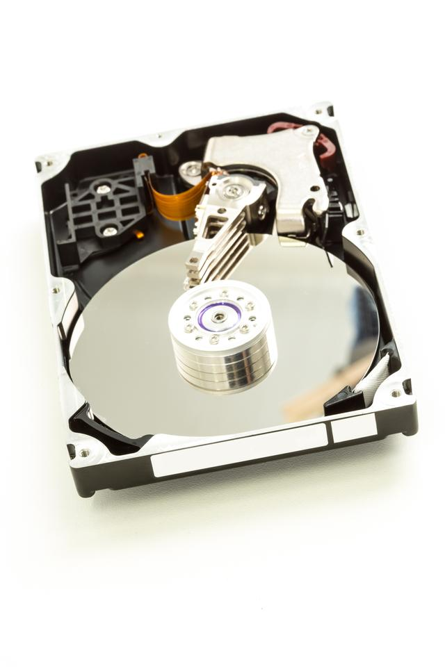 """Computer disk drive"" stock image"