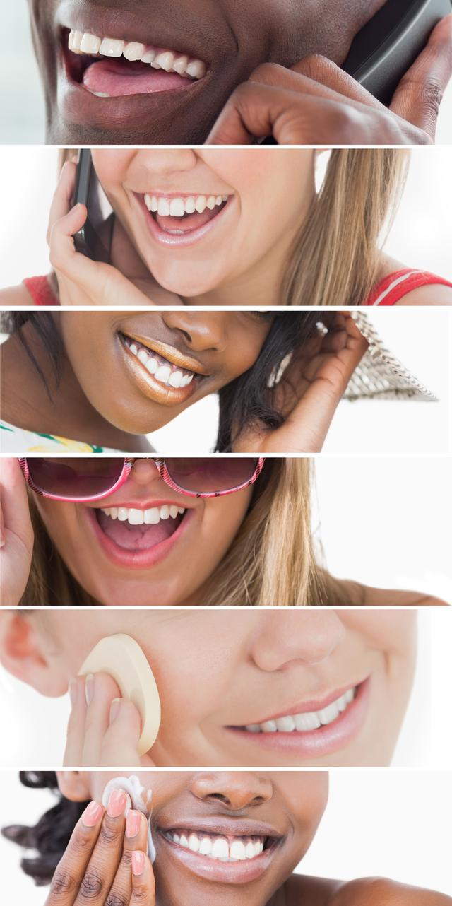 """""""Dental care collage"""" stock image"""