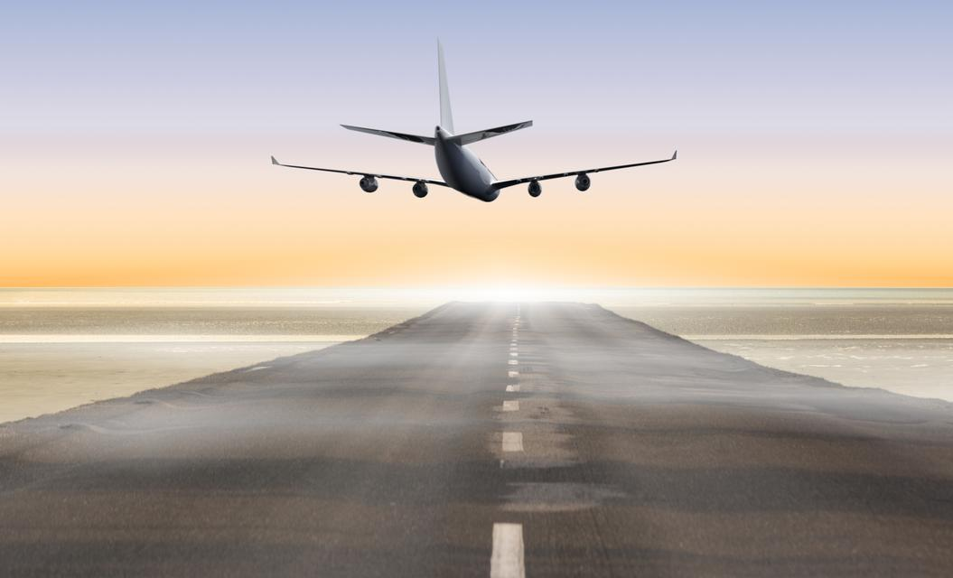 """""""Composite image of airplane"""" stock image"""