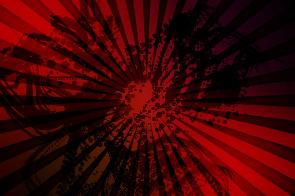 """""""Digitally generated red background"""" stock image"""