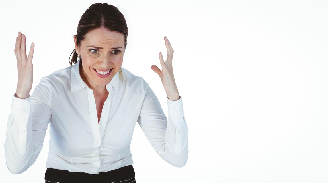 """""""disappointed looking businesswoman"""" stock image"""