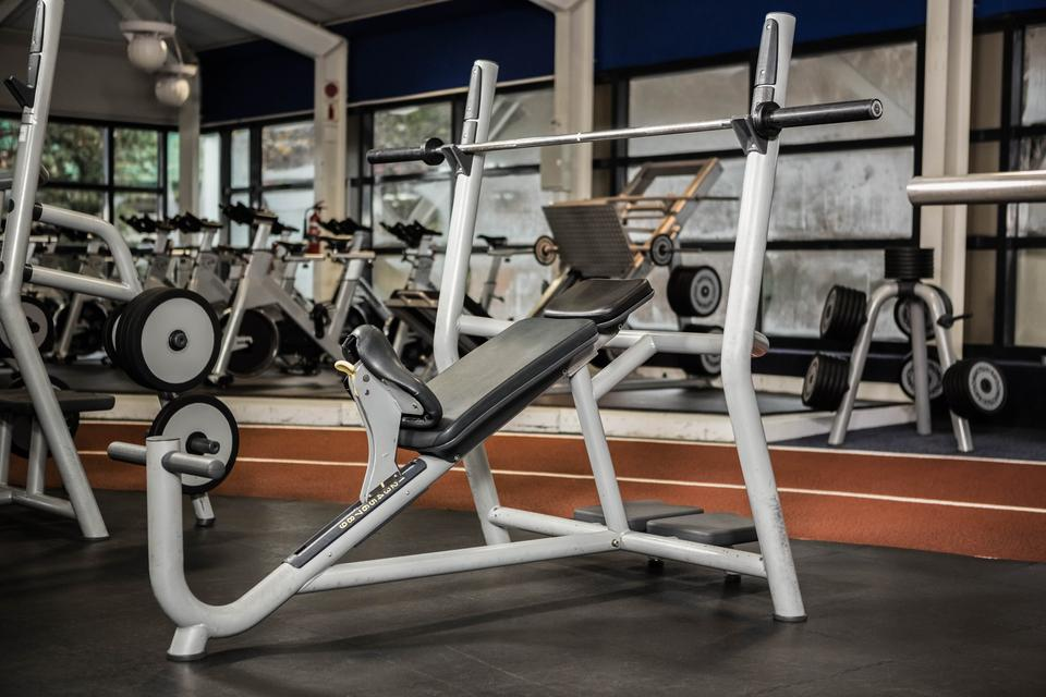 """Exercise machines"" stock image"