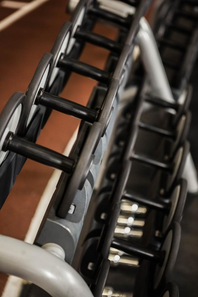 """Detail of exercise machine"" stock image"