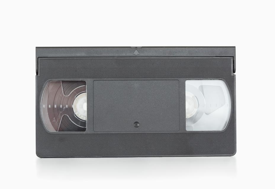 """A video tape"" stock image"