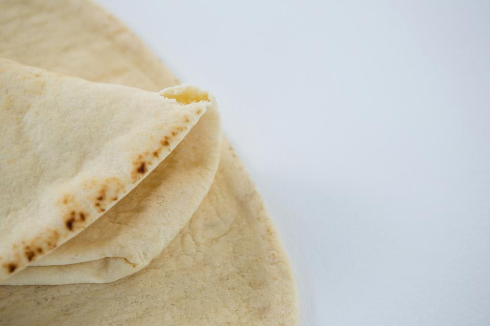 """""""Two flat breads"""" stock image"""