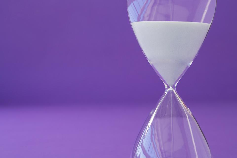 """Close-up of hourglass"" stock image"