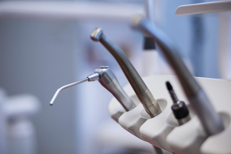 """""""Dental tools and equipment"""" stock image"""