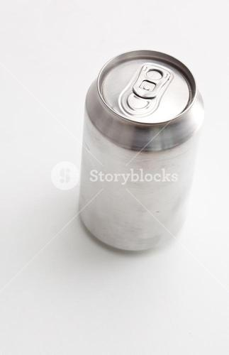 High angle view of a closed can