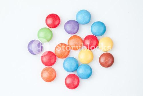 Candies multi coloured