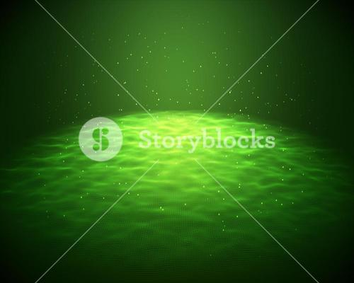 Green light for a background