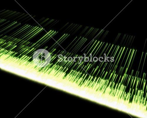 Background of multiple green lines